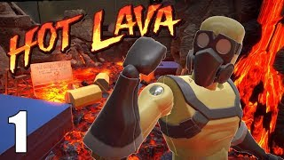 Worst Hotfoot Ever! - Hot Lava Closed Beta Gameplay - Parkour Game - Part 1