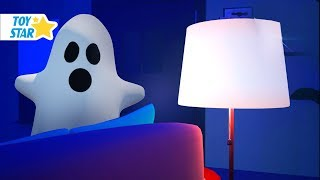 New 3D Cartoon For Kids ¦ Dolly And Friends ¦ Scared Baby Halloween Caught #122