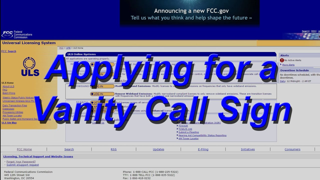gov amateur radio Fcc