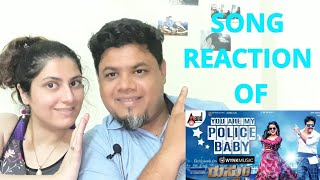 #youaremypolicebaby #Rustum | You Are My Police Baby |Dr.Shivarajkumar |Foreigner VS Indian Reaction
