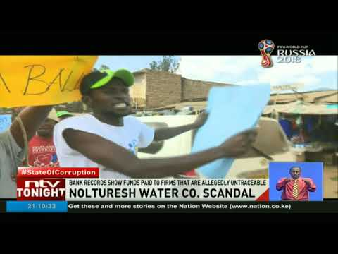 Sh 60M worth of public funds allegedly stolen by Nolturesh Water Company  management