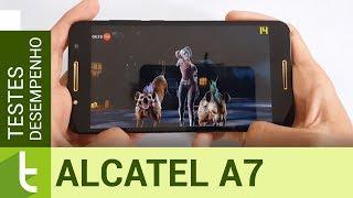 Desempenho do Alcatel A7 | Teste de velocidade oficial do TudoCelular