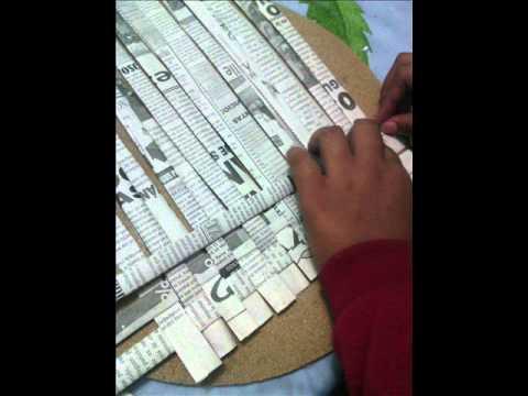 Como hacer una cartera de peri dico youtube for Como hacer una sala esquinera