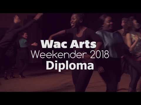 Wac Arts Weekender 2018   Diploma in Professional Musical Theatre