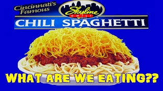 Skyline 3 Way Chili Spaghetti - WHAT ARE WE EATING?? - The Wolfe Pit