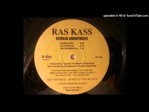 Ras Kass - Remain Anonymous (LP Version)
