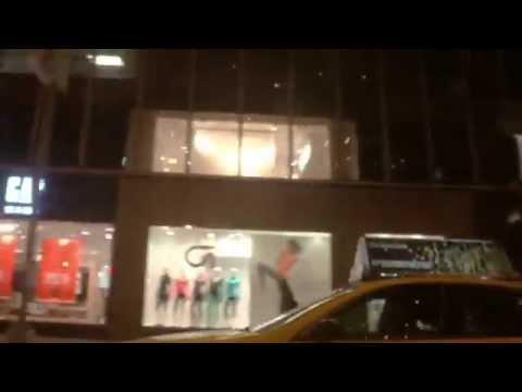 Drive Through: Midtown Manhattan on 6th Avenue / Avenue of the Americas