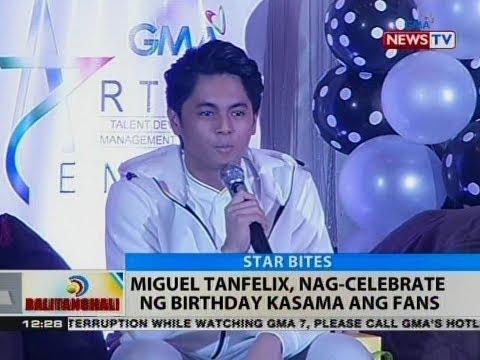 BT: Miguel Tanfelix, nag-celebrate ng birthday kasama ang fans
