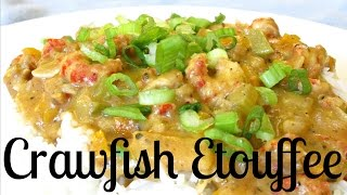 Crawfish Etouffee With Cream - Classic Etouffee With Mirepoix And Cajun Spices - Poormansgourmet