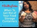 When To Get Rid of Your Food Storage Containers! - Adulting Series - Rubbermaid