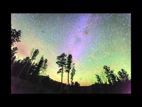 Meteor explosion Milky Way Time Lapse