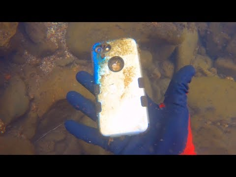 i-found-an-iphone-8-and-awesome-crevices-for-gold-scuba-diving-in-colorado!