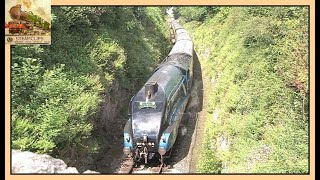 Dramatic Rescue of The Torbay Express, 4464 (60019) Bittern. 19th Aug. 2012