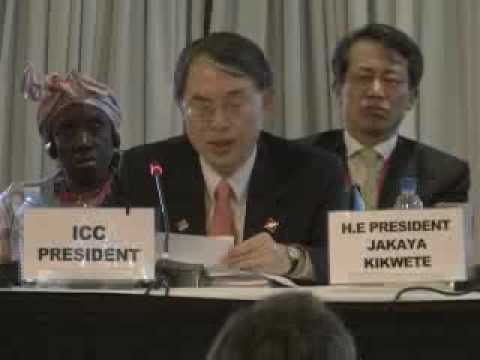 Review Conference of the Rome Statute, opening, 31 May 2010, Kampala, Uganda