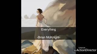 Everything Lyrics - Brian McKnight