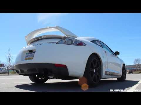 Sound: Header-back Exhaust on 2008 Mitsubishi Eclipse GT V6