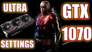 Batman Arkham Knight  Gameplay / Gtx 1070 / Ultra Settings 1080p vs 1440p vs 2160p