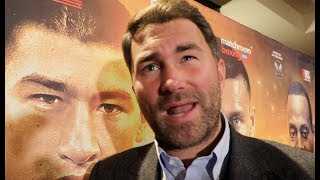 'I'D SIT AROUND TABLE w/ FRANK WARREN' -EDDIE HEARN ON JOSHUA-FURY, FREE AGENT WHYTE, CANELO-JACOBS thumbnail