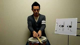 ★ドラムレッスン★フラムの叩き方 thumbnail