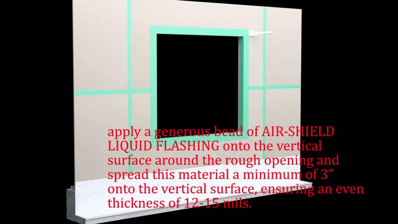 AIR-SHIELD THRU-WALL FLASHING - Flexible Flashing - W  R