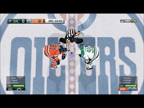 NHL 18 - Edmonton Oilers vs Dallas Stars - Gameplay (HD) [1080p60FPS]