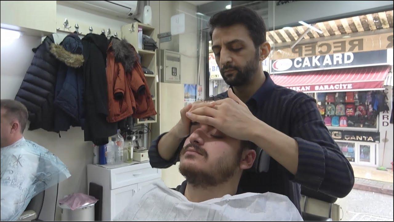ASMR Turkish Barber Massage, Face Massage, Head Massage