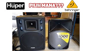 REVIEW SPEAKER HUPER HA400