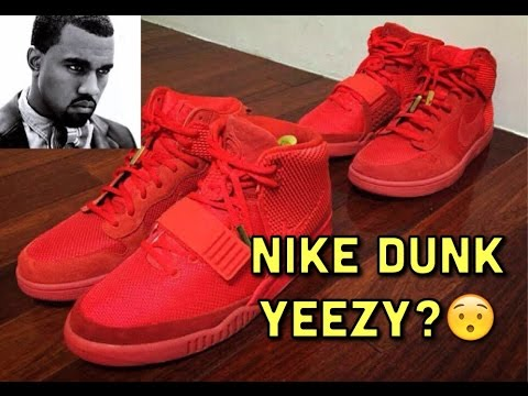 NIKE DUNK RED OCTOBER YEEZY???