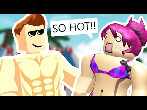 Roblox - Pool Tycoon - PARTY AT MY WATERPARK!