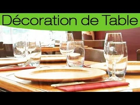 Comment dresser une table youtube - Comment mettre le couvert a table ...