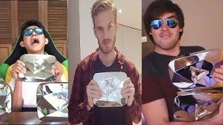 9 Youtubers Mostrando Su Botón De Diamante | ¡MOMENTOS ÉPICOS! thumbnail