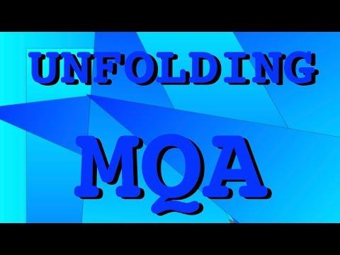 Unfolding MQA: how to play MQA - YouTube
