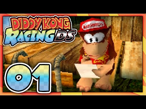 Let's Play: Diddy Kong Racing DS - Part 1: Dino Domain!