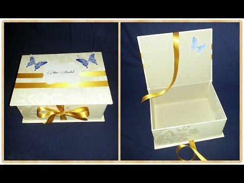 Beautiful Handmade Jewelry Box - DIY - Craft - Handmade