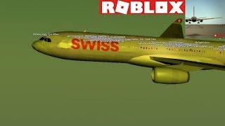ROBLOX - France Vol A330 de Swiss International Airlines (crash)
