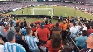 EMOCIONANTE TANDA DE PENALES EN LA FINAL COPA AMERICA CENTENARIO