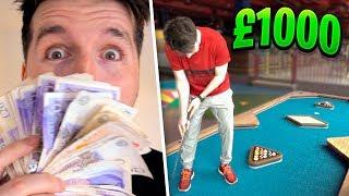 I PLAYED CRAZY GOLF FOR £1000