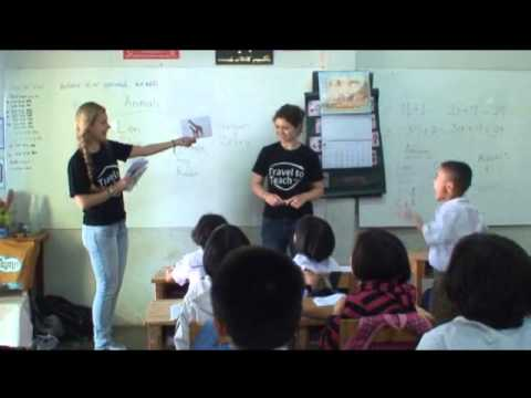 A day in school with Travel to Teach Thailand