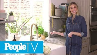 Whitney Port Gives A Tour Of Her Brand New Beautiful Kitchen | PeopleTV