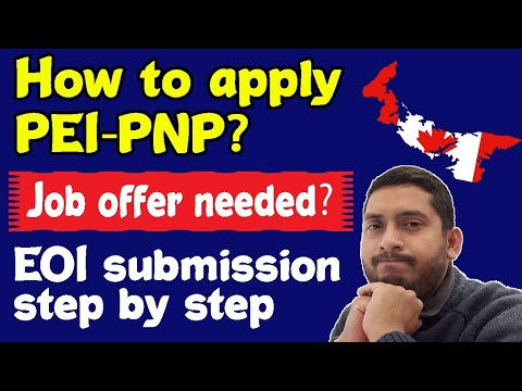 PEI PNP EOI Submission| PEI PNP Points| Prince Edward Island PNP 2020