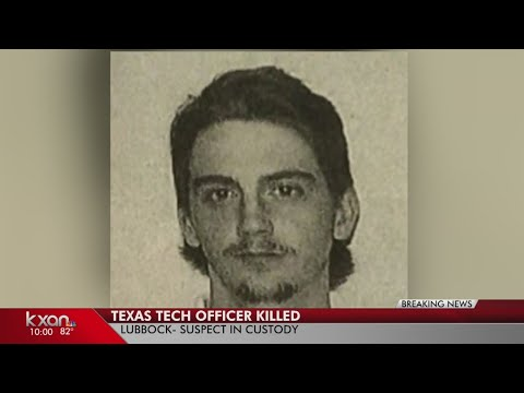 Texas Tech police officer shot and killed on campus; shooter in custody