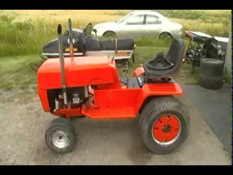 1983 Yardman Mtd Garden Tractor Running And Moving Youtube
