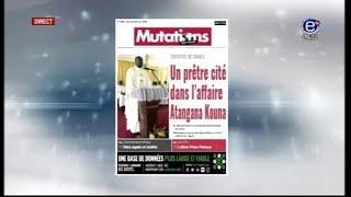 LA REVUE DES GRANDES UNES ÉQUINOXE TV DU MERCREDI 28 MARS 2018