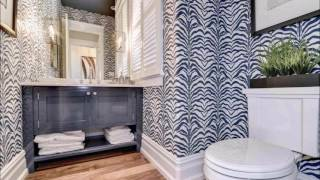 видео Моющиеся обои для ванной комнаты