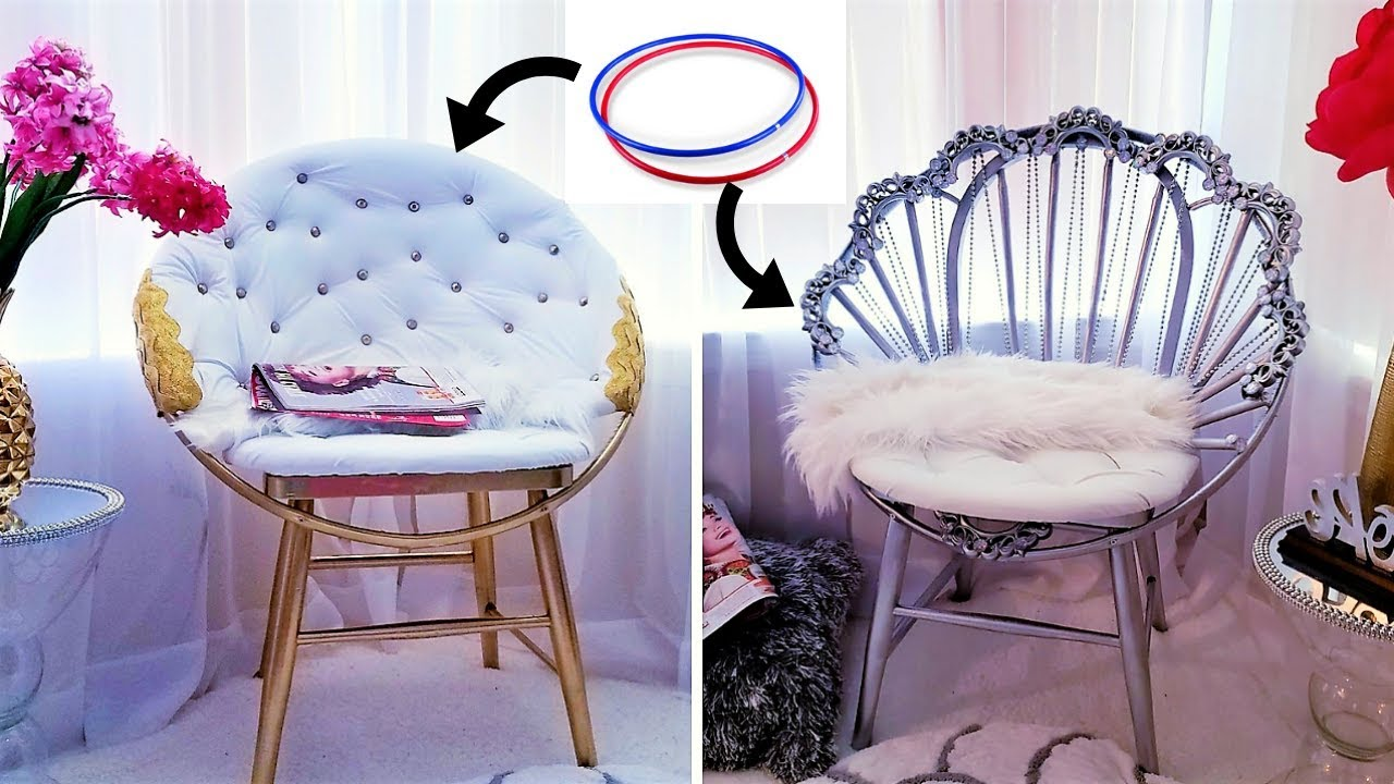 How To Make Accent Chairs With Hula Hoops 2019 Home Decor Ideas
