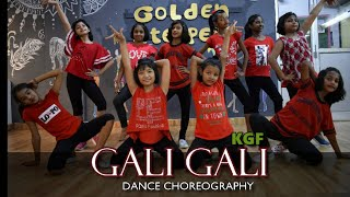 Gali Gali | KGF | Dance Choreography | Vivek | Kids Performance | Golden Steppers | Neha kakkar