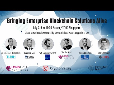 Bringing Enterprise Blockchain Solutions Alive