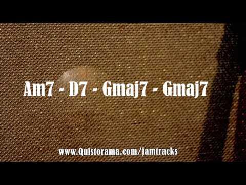 2-5-1 Jazz Backing Track - Medium Up Swing (G)