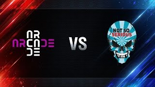 Arcade eSports vs Not So Serious - day 3 week 4 Season I Gold Series WGL RU 2016/17