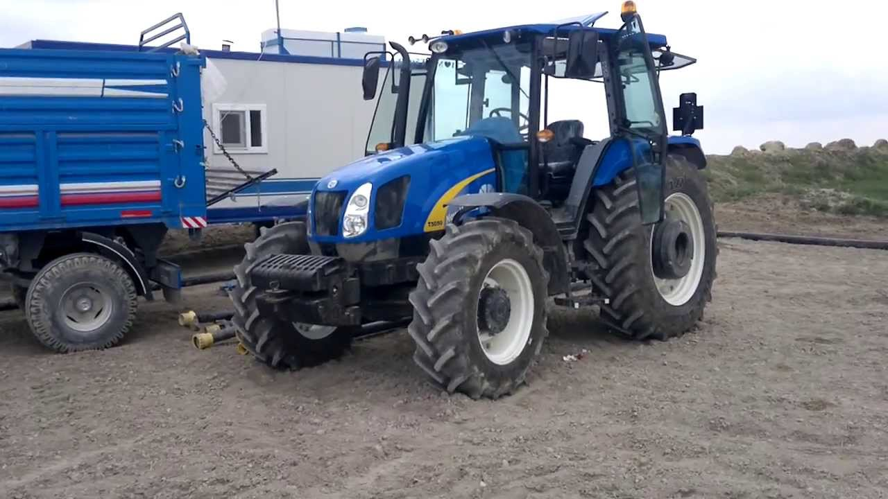 new holland t5050 vs f at 7056s bu day sulamas nda youtube. Black Bedroom Furniture Sets. Home Design Ideas